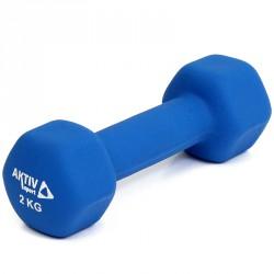 Aktivsport Súlyzó 2 kg neoprén BLACK FRIDAY Aktivsport