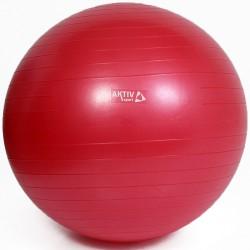 Aktivsport Durranásmentes gimnasztikai labda 75 cm piros Gimnasztika labdák Aktivsport