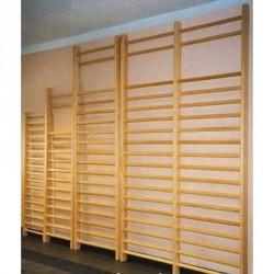 Bordásfal, 230x72 cm, szobai, 3 db-os csavarkészlettel Bordásfal Drenco