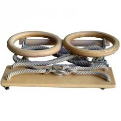 Tornakészlet I. (hinta, nyújtó, gyerek gyűrűkarika) Hinta és mászóeszközök