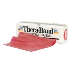 Gumiszalag Thera-Band piros 1,5 m közepes Fitnesz szalagok Thera-Band