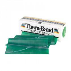 Gumiszalag Thera-Band zöld 1,5 m erős Fitnesz szalagok Thera-Band