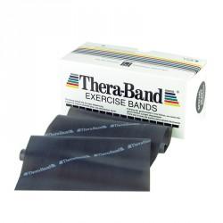 Gumiszalag Thera-Band fekete 1,5 m szuper erős