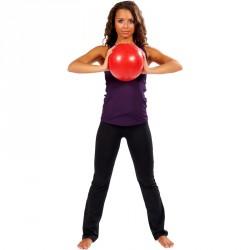 Trendy Pilates labda 30 cm piros Soft ball pilates gyakorlatokhoz Jóga, pilates Trendy