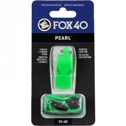 Síp, Fox 40 Pearl, sípzsinorral, neonzöld Síp Fox 40