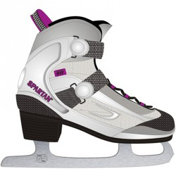 Soft Lady jégkorcsolya Hobby korcsolya Spartan