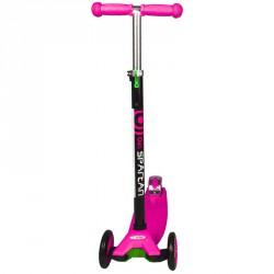 Roller 4 kerekű rózsaszín 3 kerekű roller Spartan