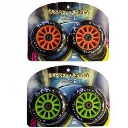 100 mm rollerkerék ABEC csapággyal Roller alkatrészek Spartan