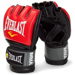 Grappling kesztyű Everlast Pro Style piros Kesztyűk Everlast