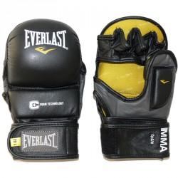 Striking kesztyű bőr Everlast fekete Kesztyűk Everlast