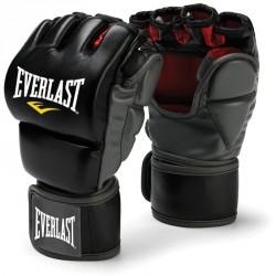 Edzőkesztyű Everlast Grappling fekete hüvelykujjas Kesztyűk Everlast