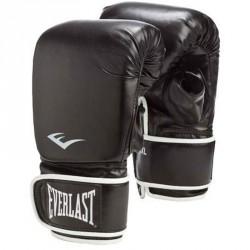 Zsákoló kesztyű Everlast bőr fekete Kesztyűk Everlast