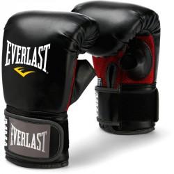 Zsákoló kesztyű Everlast PU fekete Kesztyűk Everlast