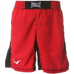 Férfi MMA Short Everlast piros-fekete Kiegészítők Everlast