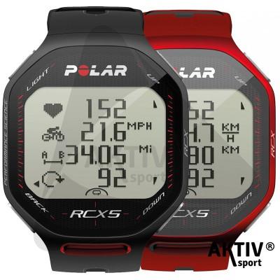 Polar RCX5 Fekete Pulzusmérő Futó Sportóra