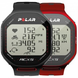 Polar RCX5 Fekete Pulzusmérő Futó Sportóra Sportórák, lépésszámlálók Polar