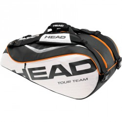 Tenisztáska Head Tour Team Combi narancssárga-fehér Tenisz squash táska Head