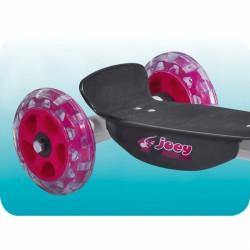 Roller Hudora Joey gyermek rózsaszín 3 kerekű roller Hudora