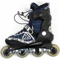 Görkorcsolya K2 Raider gyerek terepmintás Állítható korcsolyák K2