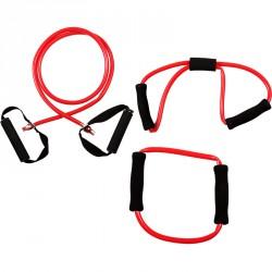 Bremshey Fitnesz Kötél Szett 3 db-os piros, erős Gumikötelek Bremshey