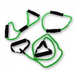 Bremshey Fitnesz Kötél Szett 3 db-os zöld, közepes Gumikötelek Bremshey