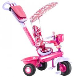 Tricikli SMART BABY DELUXE 3in1 (pink) Játék Bambi
