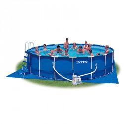 Vízforgatós medence, fémvázas 549x122 cm Medence Intex