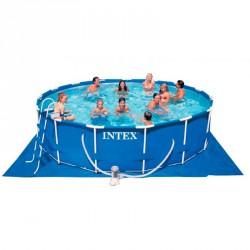 Vízforgatós medence, fémvázas 457x84 cm Medence Intex