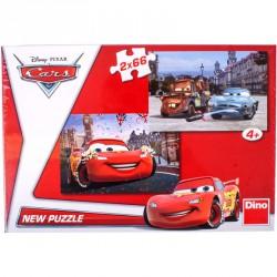 Puzzle 2x66 db - Verdák Puzzle Dino