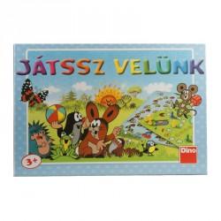 Társasjáték - Játssz velünk-Kisvakond Szórakoztató játékok Dino