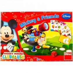 Társasjáték - Mickey és barátai Szórakoztató játékok Dino