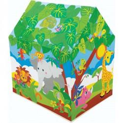 Vidám farm játszósátor 95x75x107 cm Intex Gyerek sátor Intex