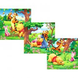 Puzzle 3IN1 - Micimackó Ravensburger Puzzle Ravensburger