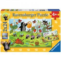 Puzzle 2x24 db - Kisvakond Ravensburger Puzzle Ravensburger