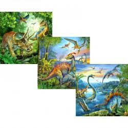 Puzzle 3x49 db - Dinoszauruszok Ravensburger Puzzle Ravensburger