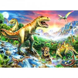 Puzzle 100XXL - Dinoszaurusz Ravensburger Puzzle Ravensburger