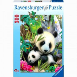 Puzzle 300XXL - Pandák Ravensburger Puzzle Ravensburger