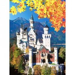 Puzzle 1500 db - Neuschwanstein Ravensburger Puzzle Ravensburger