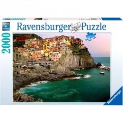 Puzzle 2000 db - Cinque Terre Ravensburger Puzzle Ravensburger