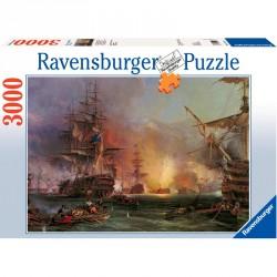 Puzzle 3000 db panoráma - Hadihajók Ravensburger Puzzle Ravensburger
