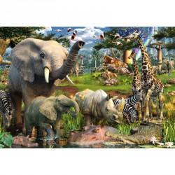 Puzzle 18000 db - Dzsungel Ravensburger Puzzle Ravensburger