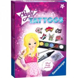 Kreatív - Divatos tetoválások Ravensburger Puzzle Ravensburger