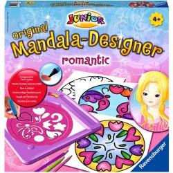 Mandala Junior - romantic Színező Ravensburger