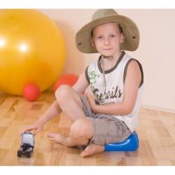 Ékalakú ülőpárna gyerekeknek Egyensúlyozó eszközök Gymnic