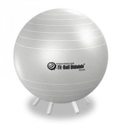 Fit-Ball Ülőlabda lábakkal 55 cm - gyöng yház Gimnasztika labdák Gymnic