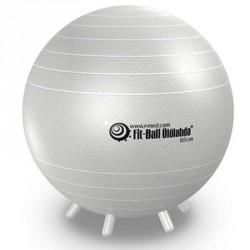 Fit-Ball Ülőlabda lábakkal 65 cm - gyöng yház Gimnasztika labdák Gymnic