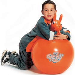 My Pony füles labda narancs Mozgásfejlesztők Gymnic