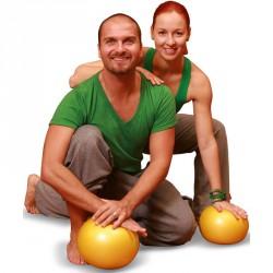 Soft Ball - Body Ball sárga/kék/piros Gimnasztika labdák Gymnic