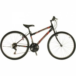 Mountain Bike kerékpár Nelson 18 fekete-piros Neuzer