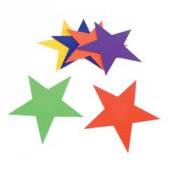 Csillag alakú padlójelölő szett Fejlesztő játékok Amaya